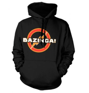 Big Bang Theory - Big Bang Theory Hoodie Bazinga Underground in the group OTHER / Merchandise at Bengans Skivbutik AB (1165213)
