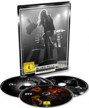 Blues Pills - Lady In Gold-Live In Paris ( Dvd+2C in the group Minishops / Blues Pills at Bengans Skivbutik AB (2644376)