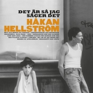 Håkan Hellström - Det Är Så Jag Säger Det in the group VINYL / Popular Swedish Artists On Vinyl at Bengans Skivbutik AB (2982053)