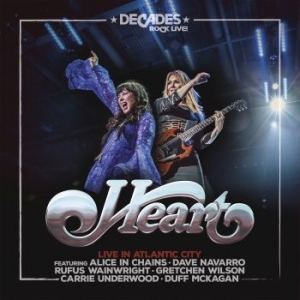 Heart - Live In Atlantic City in the group VINYL / Rock at Bengans Skivbutik AB (3466058)