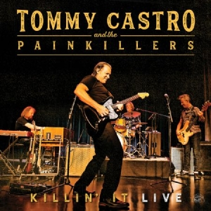Castro Tommy & The Painkillers - Killin' It - Live in the group VINYL / Upcoming releases / Jazz/Blues at Bengans Skivbutik AB (3489595)
