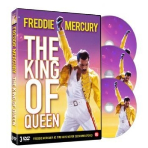 Queen - Freddie Mercury - The King Of Queen in the group Julspecial19 at Bengans Skivbutik AB (3513062)