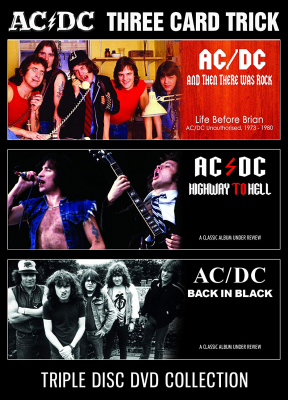 AC/DC - Three Card Trick (3 Dvd Documentary in the group Campaigns / Weekly Releases / Week 13 / MUSIC DVD W.13 at Bengans Skivbutik AB (3531177)
