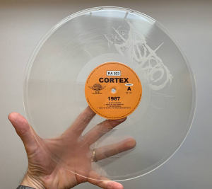 Cortex - 1987 Clear Vinyl Bengans Edition Numbered 300 in the group VINYL / Popular Swedish Artists On Vinyl at Bengans Skivbutik AB (3563772)