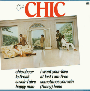 Chic - C'est Chic (Vinyl) in the group VINYL / Vinyl Soul at Bengans Skivbutik AB (3602989)