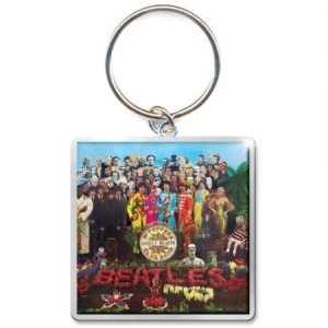 The beatles - THE BEATLES STANDARD KEYCHAIN: SGT PEPPER ALBUM in the group OTHER / Merch Keyrings at Bengans Skivbutik AB (3641000)