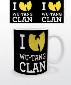 Wu-tang Clan - I Heart Wu-Tang 11 oz mug in the group Julspecial19 at Bengans Skivbutik AB (3655427)