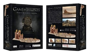 Game of Thrones - King's landing puzzle in the group OTHER / Merch Monopoly And Puzzle at Bengans Skivbutik AB (3737703)