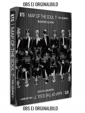BTS - MAP OF THE SOUL : 7 - THE JOURNEY Set A (A,C,D and Normal CD) in the group CD / Upcoming releases / Pop at Bengans Skivbutik AB (3913115)