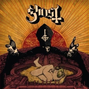 Ghost - Infestissumam (Clear Brown Vinyl) in the group VINYL / Popular Swedish Artists On Vinyl at Bengans Skivbutik AB (487874)