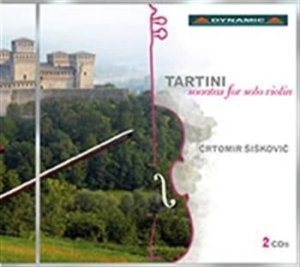 Tartini - Sonatas For Solo Violin in the group CD / Klassiskt at Bengans Skivbutik AB (520789)
