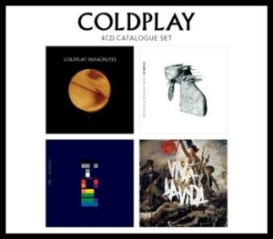 Coldplay - 4 Cd Catalogue Set in the group Julspecial19 at Bengans Skivbutik AB (555065)