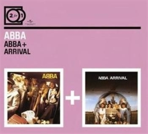 Abba - 2For1 Abba/Arrival (Digipak) in the group CD / Pop at Bengans Skivbutik AB (591033)