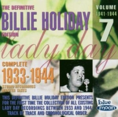 Holiday Billie - Complete Master Takes/Vol.7 1941-44
