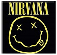 Nirvana - Smiley - Fridge Magnet