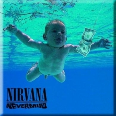 Magnets - Nirvana Fridge Magnet: Nevermind