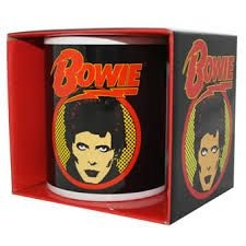 David Bowie - Flash Logo Boxed Mug