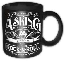 Asking Alexandria - Rock N Roll Ceramic Boxed Mug