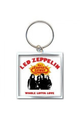 Led Zeppelin - Whole lotta love metal keychain