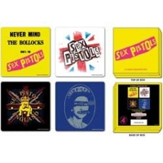 Sex Pistols - Coasters: 4 piece coaster set