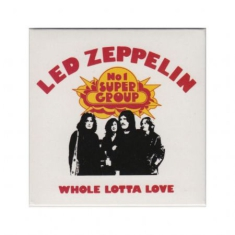 Led Zeppelin - Whole lotta love fridge magnet