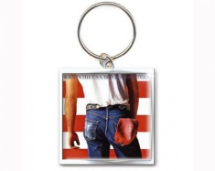 Bruce Springsteen - Born in the USA metal keychain