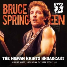 Springsteen Bruce - Human Rights Broadcast (Fm Broadcas