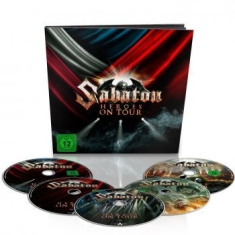 Sabaton - Heroes On Tour Earbook 2Dvd,2Blu-Ra