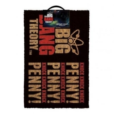Door Mat - Door Mat - Big Bang Theory Knock Knock Knock