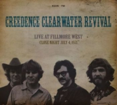 Creedence Clearwater Revival - Live At Fillmore West Close Night