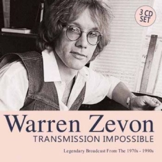 Zevon Warren - Transmission Impossible (3 Cd)