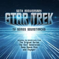 Star trek - 50Th Anniv. - Tv Series Soundtrack in the group VINYL / Film/Musikal at Bengans Skivbutik AB (2236282)