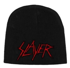 Slayer - Beanie Hat Scratched Logo