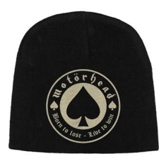 Motorhead - Beanie Hat Discharge Print Born To