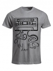 Bengans Tape - T-Shirt Grey
