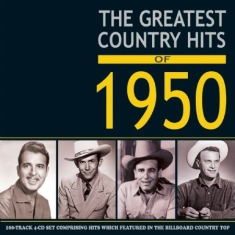 Blandade Artister - Greatest Country Hits Of 1950