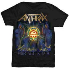 Anthrax For All Kings Cover Mens Black - T-shirt