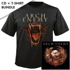 Arch Enemy - Will To Power CD + T-shirt XL (Ltd CD Digipak+ T-shirt XL)