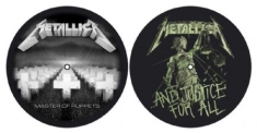 Metallica - Master Of Puppets & ...And Justice For All - Slipmat