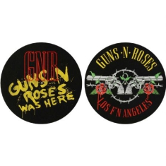 Guns N Roses - Los F'N Angeles & Was Here - Slipmat