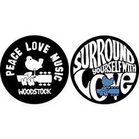 Woodstock - Woodstock Peace Love Music - Slipmat