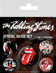 Rolling Stones - Rolling Stones (Classic) Badge Pack Pin