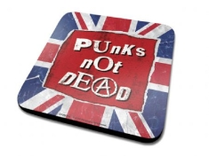 Punk's Not Dead - Punk's Not Dead Single Coaster Drinks Mat
