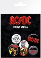 AC/DC - AC/DC Badge Pack Pin Mix