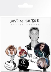 Justin Bieber - Justin Bieber Mix 2 Badge Pack Pin