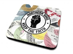 Drinks Mat - Northern Soul Labels Single Coaster Drinks Mat