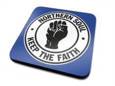 Single Coaster Drink Mat - Northern Soul Single Coaster