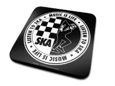 Single Coaster Drink Mat - Ska Single Coaster
