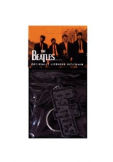 The beatles - The Beatles Metal Keychain (Logo - Metal)