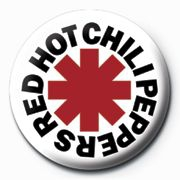 Red Hot Chili Peppers - Red Hot Chili Peppers Button Badge 25 mm (Logo)